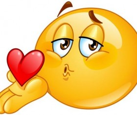 blowing kiss male emoticon icon