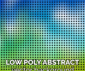 low poly abstract background vectors material 06