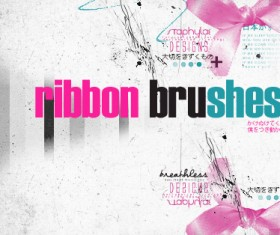 ribbon bow brush