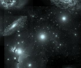 stars and galaxys photoshop brushes set