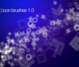 18 Kind icon brushes set