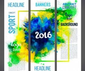 2016 rio de Janeiro olympic banners set