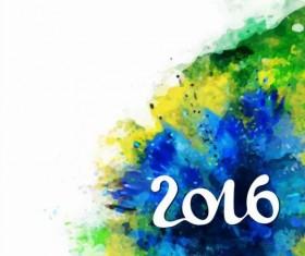 2016 rio de Janeiro olympic watercolor background 06