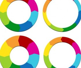 Arrow circle design vector 02