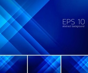 Blue stripes abstract background vector