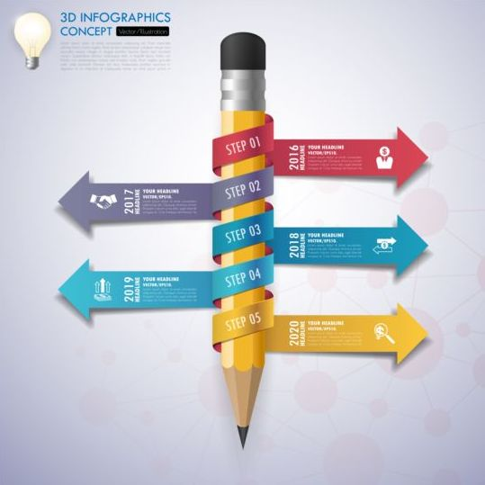 Business Infographic creative design 4455