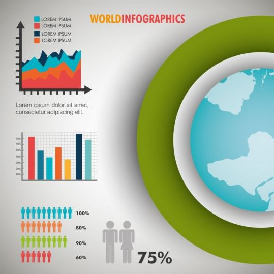 Business Infographic creative design 4468