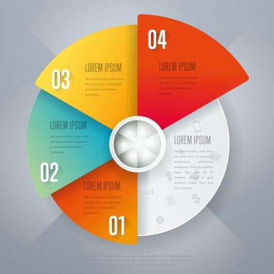 Business Infographic creative design 4470