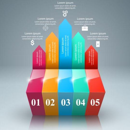 Business Infographic creative design 4502