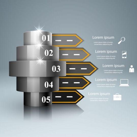Business Infographic creative design 4519