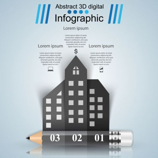 ... Infographic creative design 4523 - Vector Business free download: freedesignfile.com/249071-business-infographic-creative-design-4523