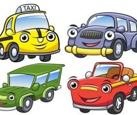 Cartoon car taxi vector