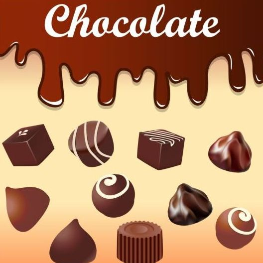 chocolate drop vector background   vector background free