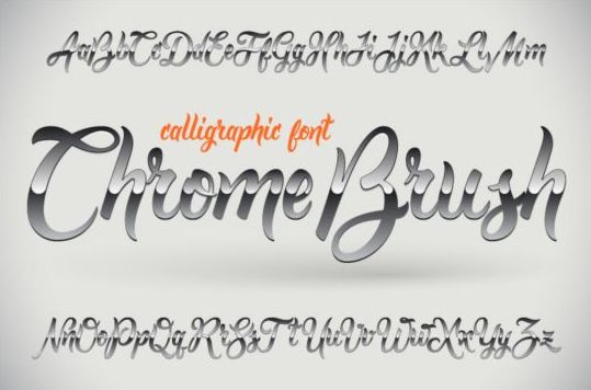 modern fonts logo