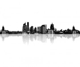 City skyline photoshop brushes