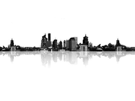 City Skyline Photoshop Brushes Photoshop Brushes Free
