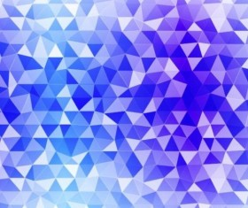 Colored polygon with blurred background vector 17