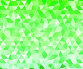 Colored polygon with blurred background vector 18