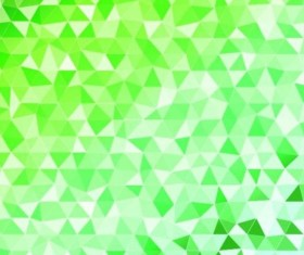 Colored polygon with blurred background vector 19