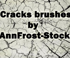 Cracks brush photoshop brushes