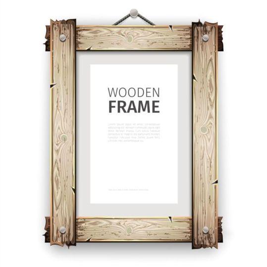 creative wooden photo frames vector set 04 free download. Black Bedroom Furniture Sets. Home Design Ideas