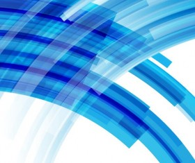 Curves blue background vector