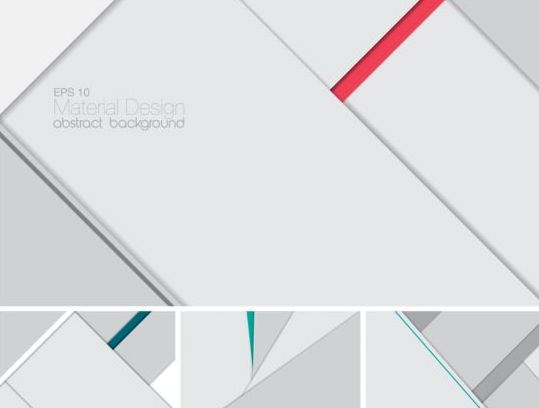 Geometric layered abstract background vector 05