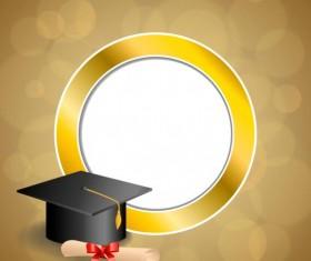 Graduation vector for free download Vintage Graduation Cap