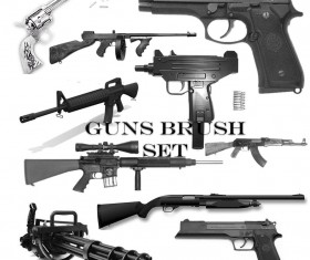 Gun PS brushes