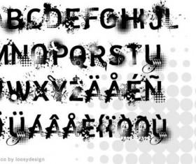 Ink grunge fonts