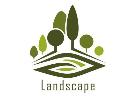 Blue logos design related keywords blue logos design for Landscape design logo