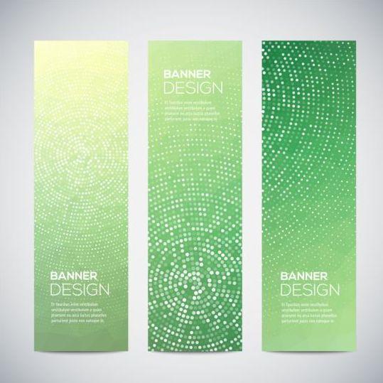 Modern vertical banners abstract vector 04