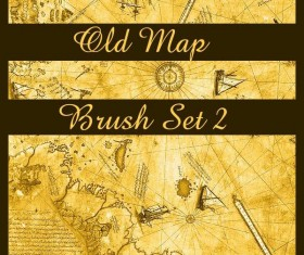 Old Map PS brushes