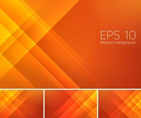 Orange stripes abstract background vector