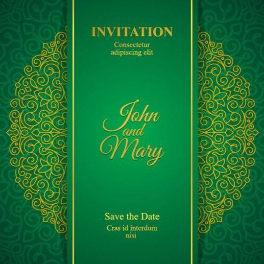 Orante green wedding invitation cards design vector 02 free download orante green wedding invitation cards design vector 02 stopboris Choice Image