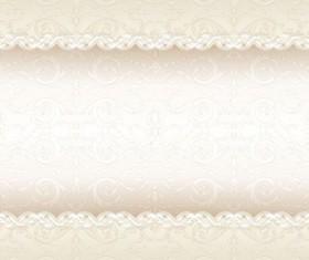 Orante vintage floral art background vector