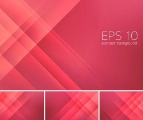 Pink stripes abstract background vector