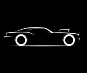 Sport car logos vectors set 02