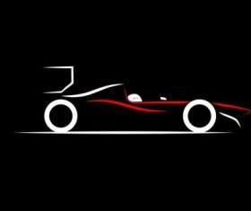Sport car logos vectors set 05