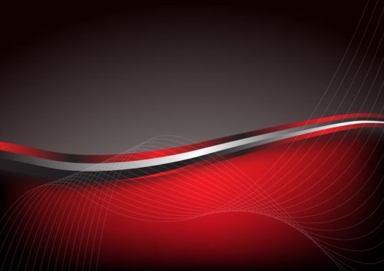 Stylish red abstract background vector 03 - Vector ...