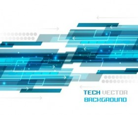 Tech vector background material 01