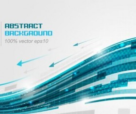 Tech vector background material 04