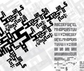 blockline ttf fonts