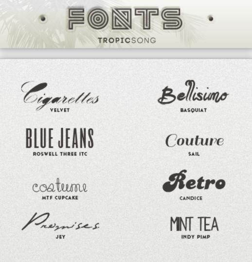8 Kind Vintage Fonts Set Free Download
