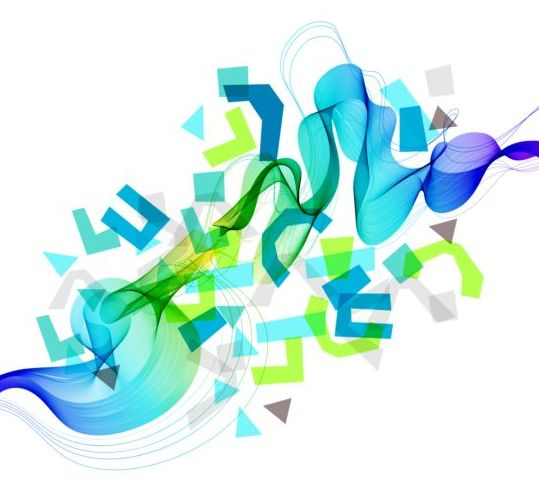 Abstract background with symbol vector 01