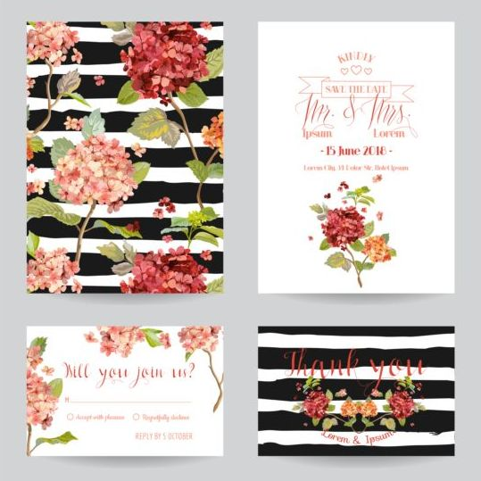 Autumn flower wedding invitation vectors 01 free download autumn flower wedding invitation vectors 01 stopboris Images