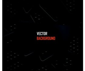 Black metal layered background vector 02