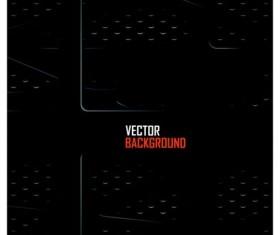 Black metal layered background vector 03