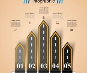 Business Infographic creative design 4530