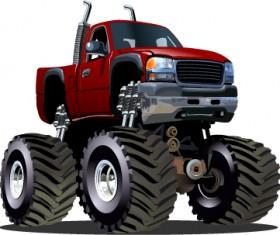 Cartoon sport utility vehicle vector 07